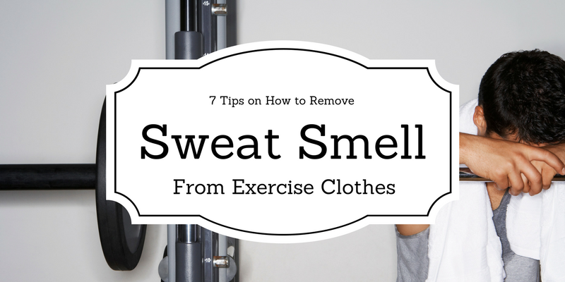 Washing workout clothing tips for removing perspiration odor for How to not sweat through a shirt