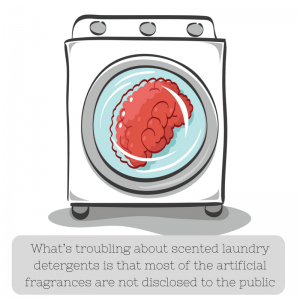 Dangers of Scented Detergents Due to Toxic Artificial Fragrances