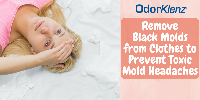 Remove Black Molds from Clothes to Prevent Toxic Mold Headaches