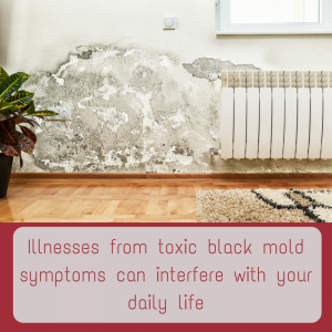 how to detect black mold poisoning