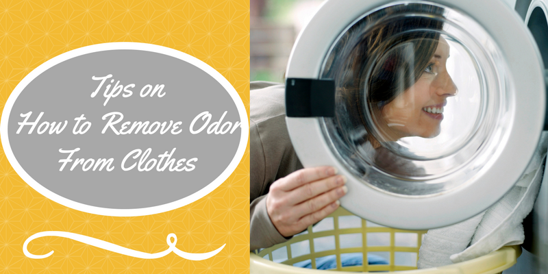 Tips on How to Remove Odor from Clothes