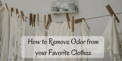 3 Natural Hacks For Clothing Odor Removal
