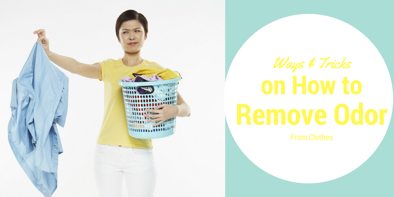 Ways & Tricks on How to Remove Odor From Clothes