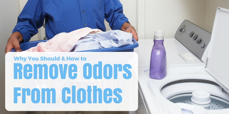 Why You Should & How to Remove Odors From Clothes