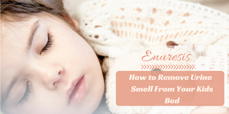 How to Remove Urine Smell From Your Kids Bed