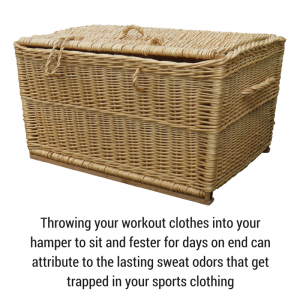 Wash Workout Clothes Immediately After Working Out